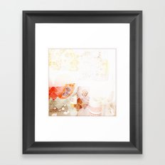 abstract textural Framed Art Print