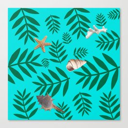 leaf coral Canvas Print