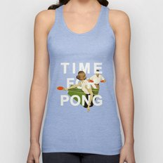 Time For Pong Unisex Tank Top