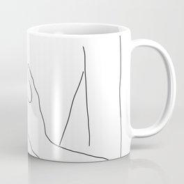 Line Hands 2 Coffee Mug