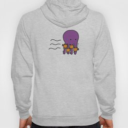 Swimming Octopus Hoody