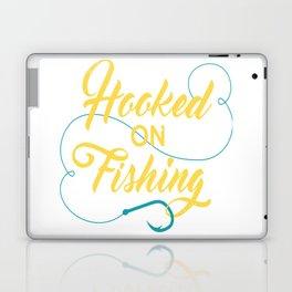 Hooked on fishing Laptop & iPad Skin