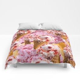 We All Scream For Ice Cream!  Comforters