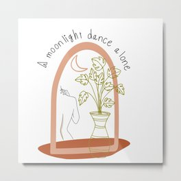 dance alone Metal Print
