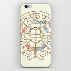 Vitruvian Turtle iPhone & iPod Skin