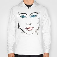 no face Hoodies featuring face by Artemio Studio