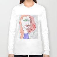 polka dot Long Sleeve T-shirts featuring POLKA DOT by The Bravo Sisters Art
