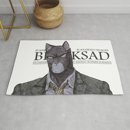 Polygonal Cat - Blacksad Rug