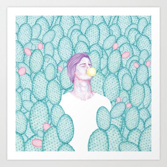 Dilka Art Print