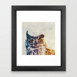 Ugle Framed Art Print