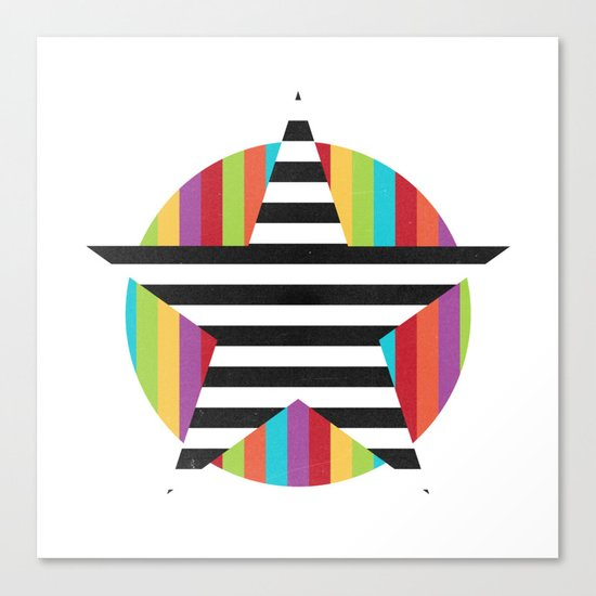 Star & Stripes Canvas Print