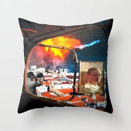 Accelerate Throw Pillow