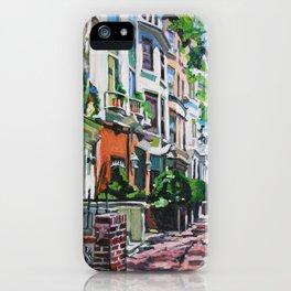 Westside Townhouses, Upper West Side iPhone Case
