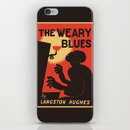 Retro The Weary Blues (music) iPhone Skin