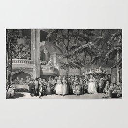 Vauxhall Gardens 1785 Rug