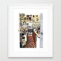 kitchen Framed Art Prints featuring Kitchen by Hanne De Brabander