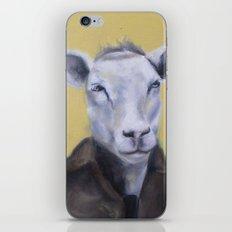 Sheep Portrait iPhone & iPod Skin