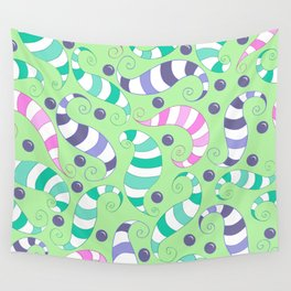 Crazy Twisters Pattern Print Wall Tapestry