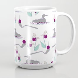 Loons and Ladyslippers Coffee Mug