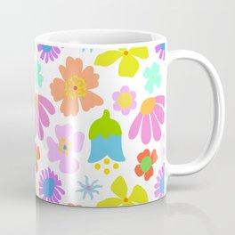 Mod Scandinavian Floral Coffee Mug