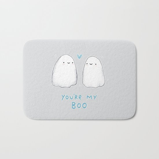Spooky Love Bath Mat