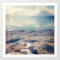 Beach Bows Art Print
