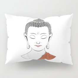 Life of Buddha Pillow Sham
