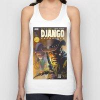 django Tank Tops featuring Django by Don Kuing