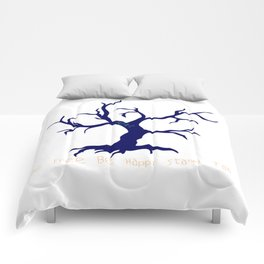 Tree of Life Dark Blue Comforters