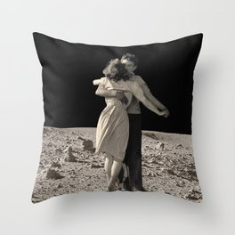 Give Me The Moon Throw Pillow