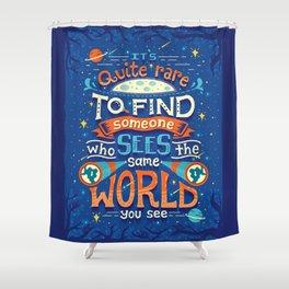 Same World Shower Curtain