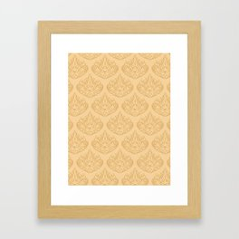 Elegant Pattern Framed Art Print