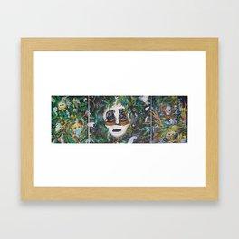 Hiding in nature Framed Art Print
