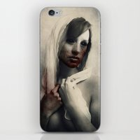 blood iPhone & iPod Skins featuring Blood by Digital Asylum (Josh Winton)