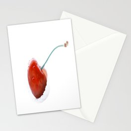 Only one cherry Stationery Cards