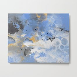 Breaking Storm - by Jenny Bagwill Metal Print