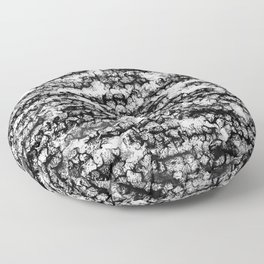 Spidery Lines Floor Pillow