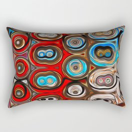 Shapes of Color Rectangular Pillow