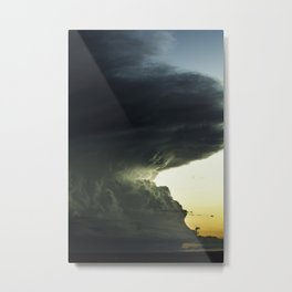Edge of Storm Metal Print