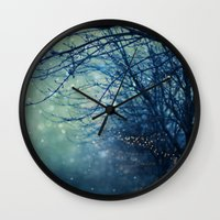 silent Wall Clocks featuring Silent Night  by Laura Ruth
