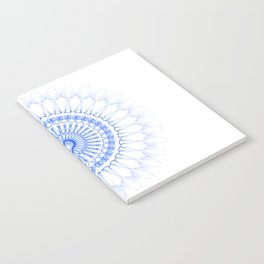Snowflake #009 transparent Notebook
