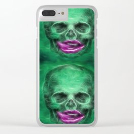 ▲►thirsty necromancers◄▲ Clear iPhone Case