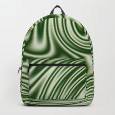 Spearmint Ribbon Candy Fractal Backpack