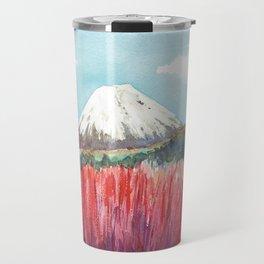 Ruapehu volcano , Tongariro National Park New Zealand Travel Mug