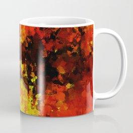 Yellow Abstract Art Coffee Mug