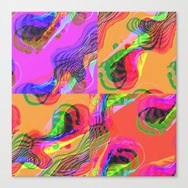 Montage cloud Canvas Print