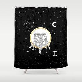 Gemini [Horoscope Collection] Shower Curtain