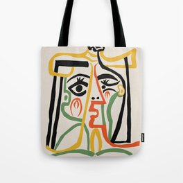Picasso - Woman's head #1 Tote Bag