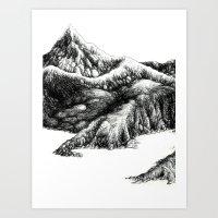Mountain1 Art Print