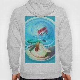 312 - Abstract Flower Orb Design Hoody